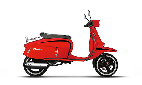 Royal Alloy GT 125 AC Red and Black