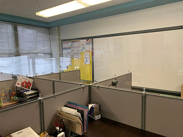 Cubicle Wall with machined clamps.jpg