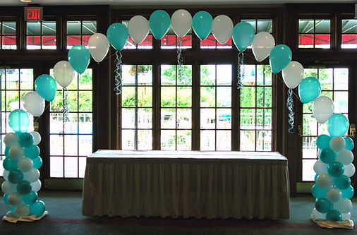 tiffany themed party.JPG