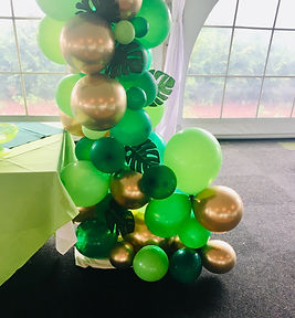 Organic balloons arches can be designed to match any theme!