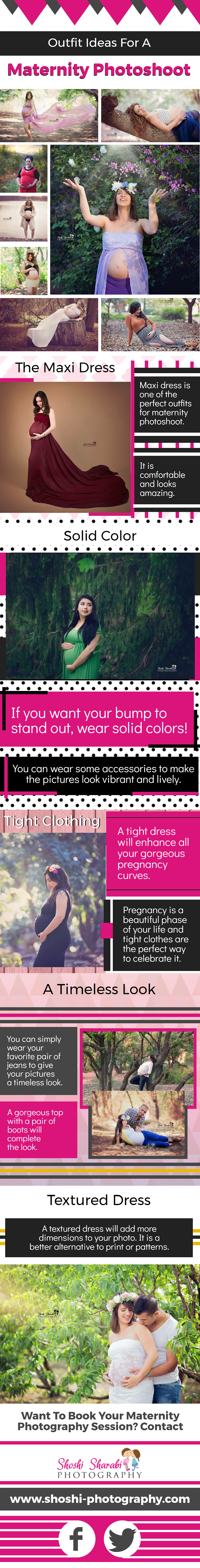 Outfit Ideas For A Maternity Photoshoot
