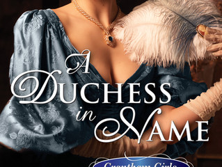 Cover reveal for  Duchess in Name!