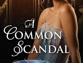 It's release day for A Common Scandal!