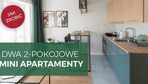 Dwa mieszkania 2-pokojowe z jednego | 9% ROI