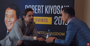 Rozmowa z Marcinem Osmanem na konferencji z Kiyosakim