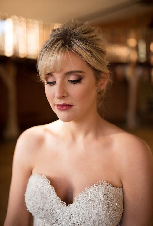 the most beautiful bridal hair and makeu