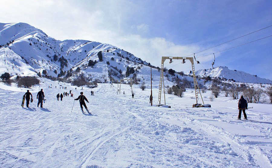 Ski At The Winter Wonderland That is the Chimgan Mountains