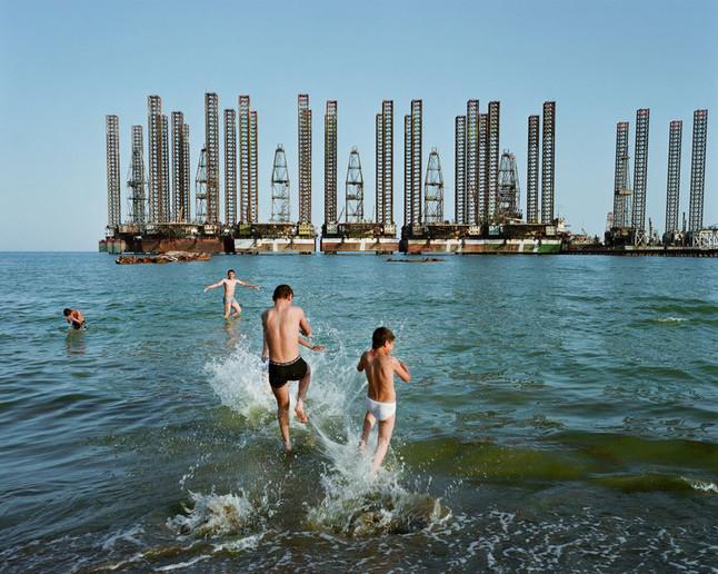 Kids Swimming at the Caspian Sea - CTTO: NPO