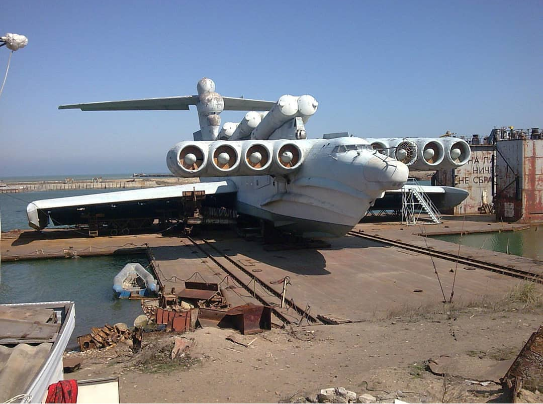 The Caspian Sea Monster - CTTO: Reddit