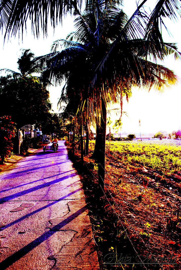 Colorful Twilight in Batangas