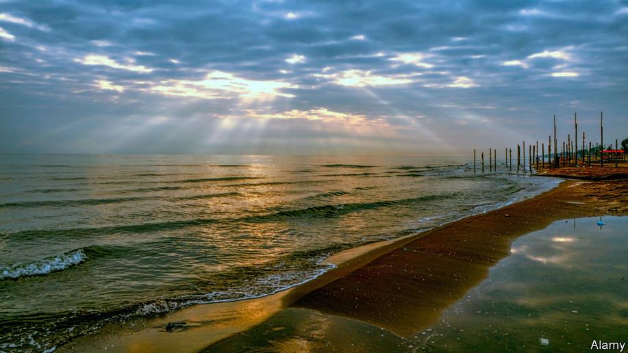 Beautiful Horizon at Caspian - CTTO: The Economist