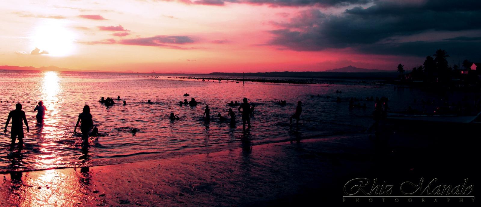 Dreamlike sunset