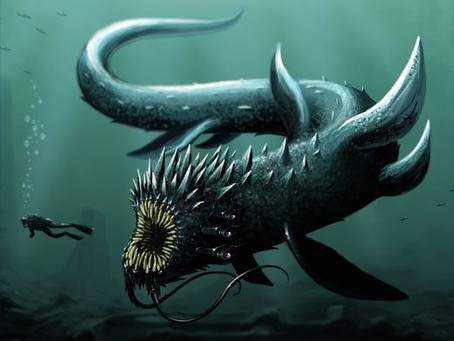 The Caspian Sea Monster