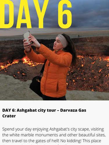 Darvaza Gas Crater Turkmenistan