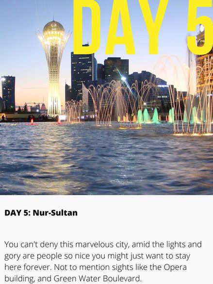 Nur Sultan Kazakhstan