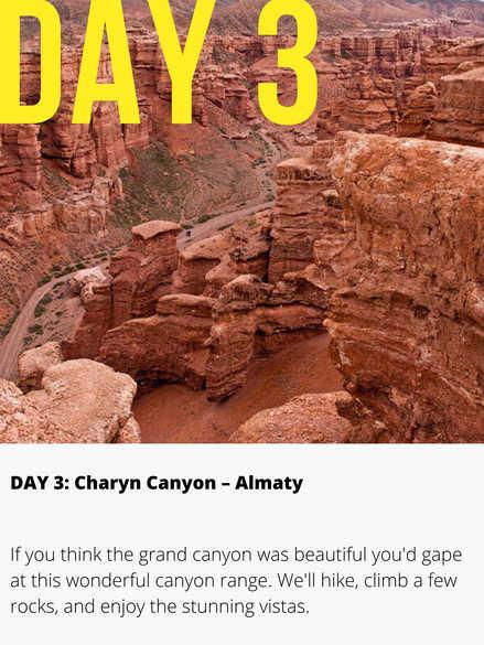 Charyn Gorge Kazakhstan
