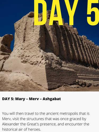 Merv Mary Turkmenistan
