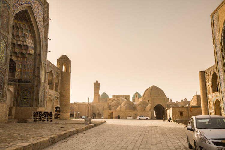 Worship At The Holy City Bukhara