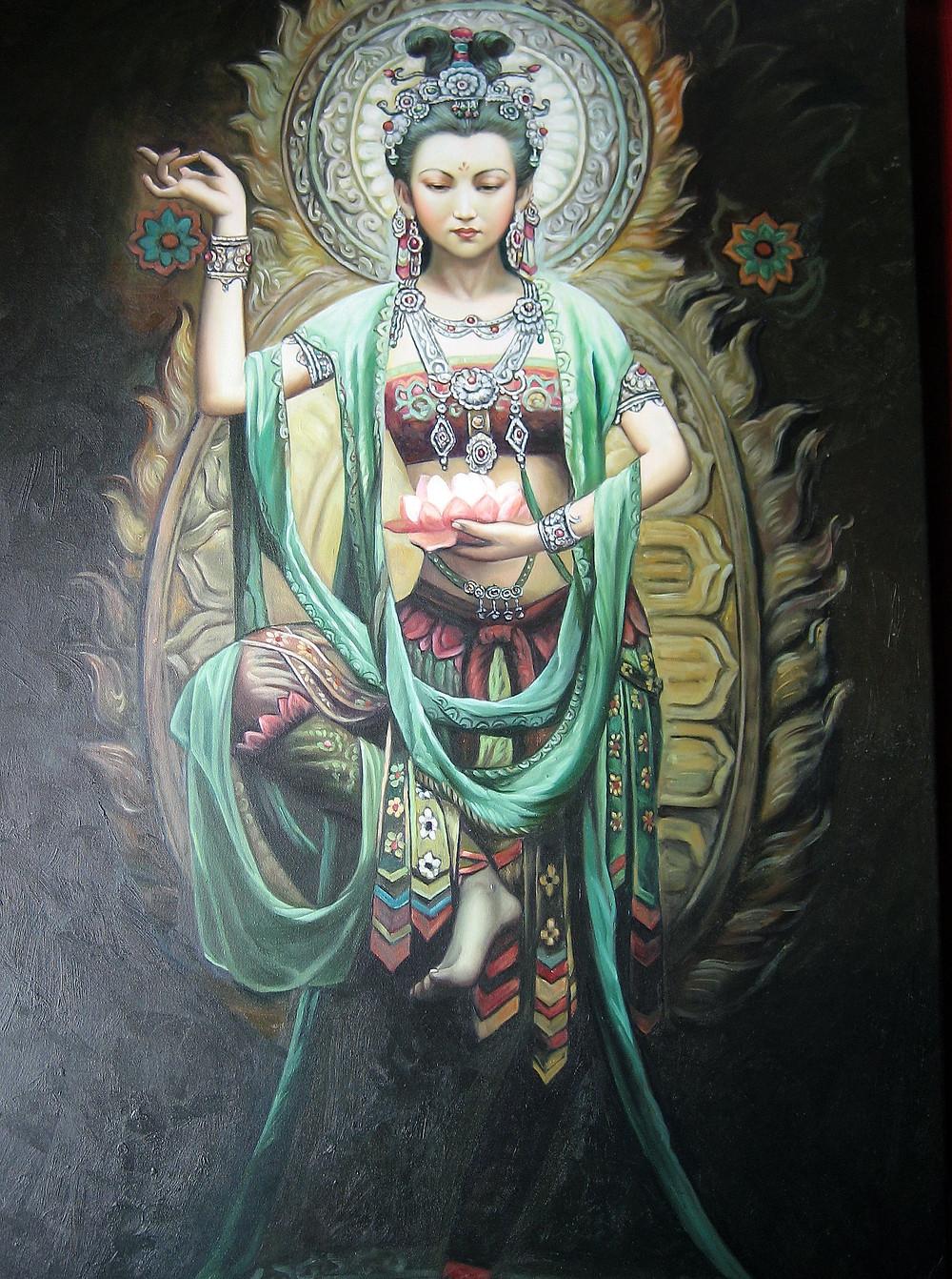 Kwan Yin (or Guanyin) by Phaedri
