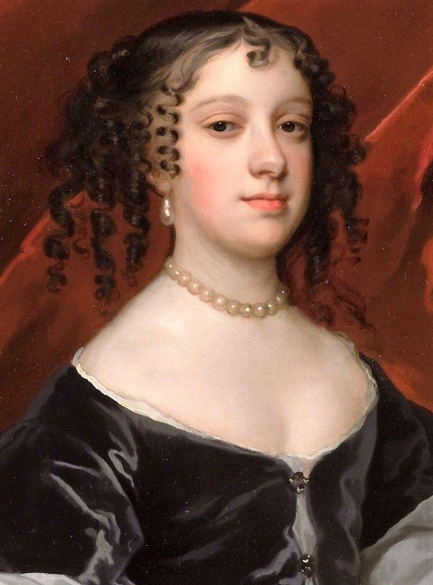 A portrait of Catherine of Braganza