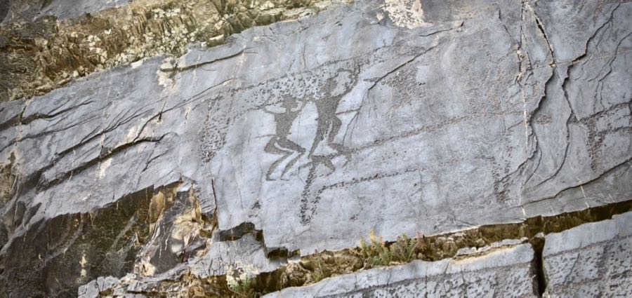 Run Your Hands Across The Petroglyphs of Tamgaly-tas