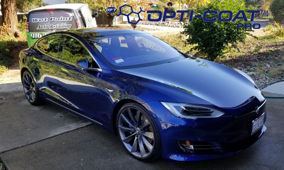 Ceramic coating Tesla