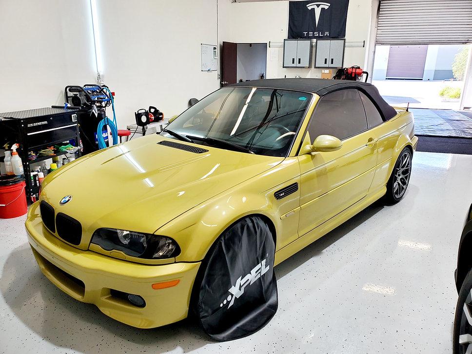 BMW M3 Xpel