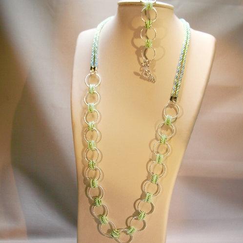Spring Breeze Necklace and Bracelet set