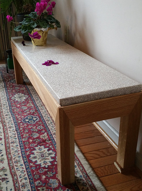 Bench- 48 inch long, 13 inch wide, 15 inch high