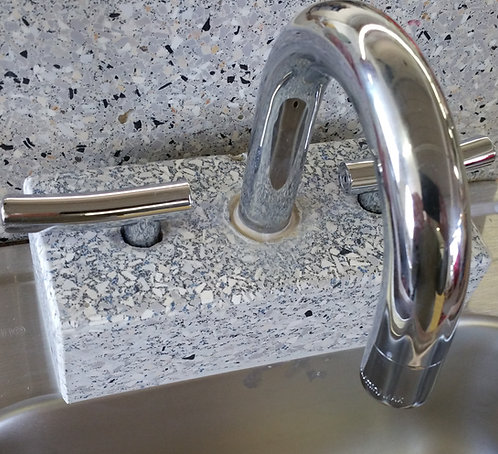 Faucet- granite/marble look for bathroom sink