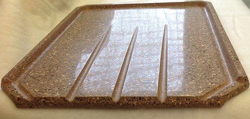 Kitchen Drainboard: Large in Freestone Granite