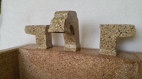 Faucet- widespread bathroom sink granite faucet