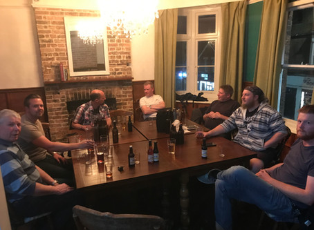 The first Beer Seller home brewers evening
