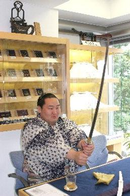本刀販売専門店 銀座長州屋 朝青龍