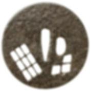 格子に割菱透図鐔 無銘 古刀匠
