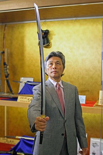 日本刀販売せん専門店 銀座長州屋ANNEX 代表取締役 深海信彦