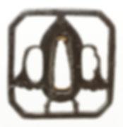 花弁透図鐔 無銘 金山