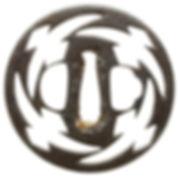 松皮菱透図鐔 無銘 尾張