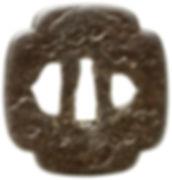 松樹図鐔 無銘 甚五