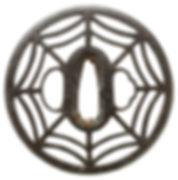 糸巻透図鐔 無銘 尾張