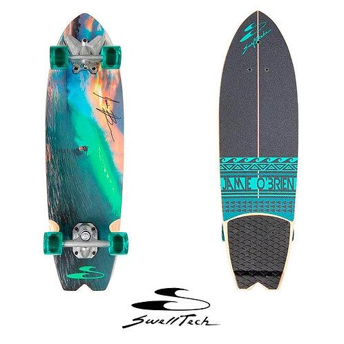"SwellTech Surfskate Jamie O'Brien Pipeline 34"""