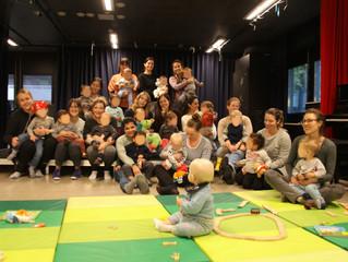 Populær møteplass for småbarn
