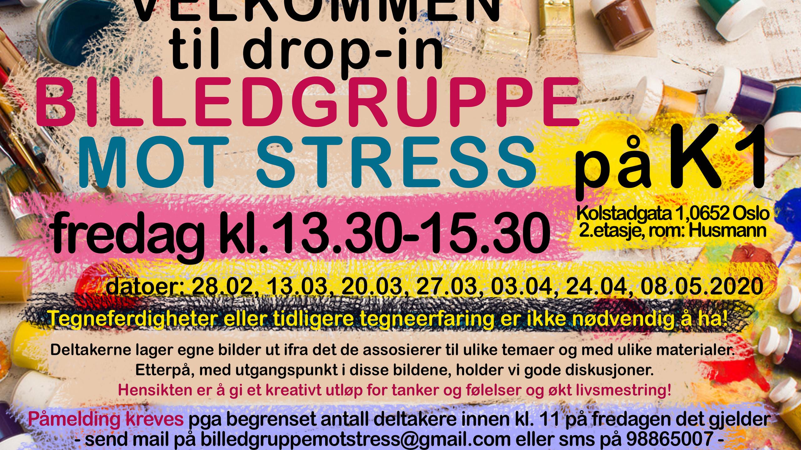 Billedgruppe mot stress