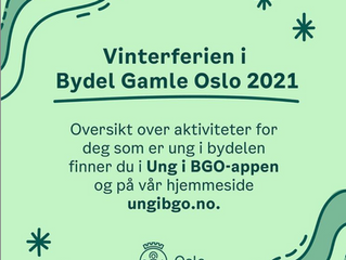Vinterferien i Bydel Gamle Oslo