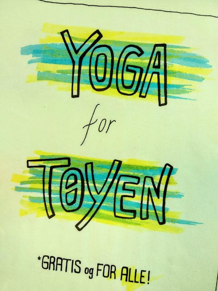 Yoga for Tøyen - gratis og for alle