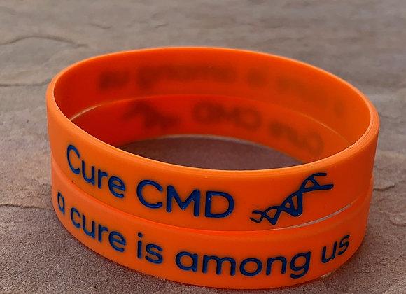 Cure CMD Awareness Wristband