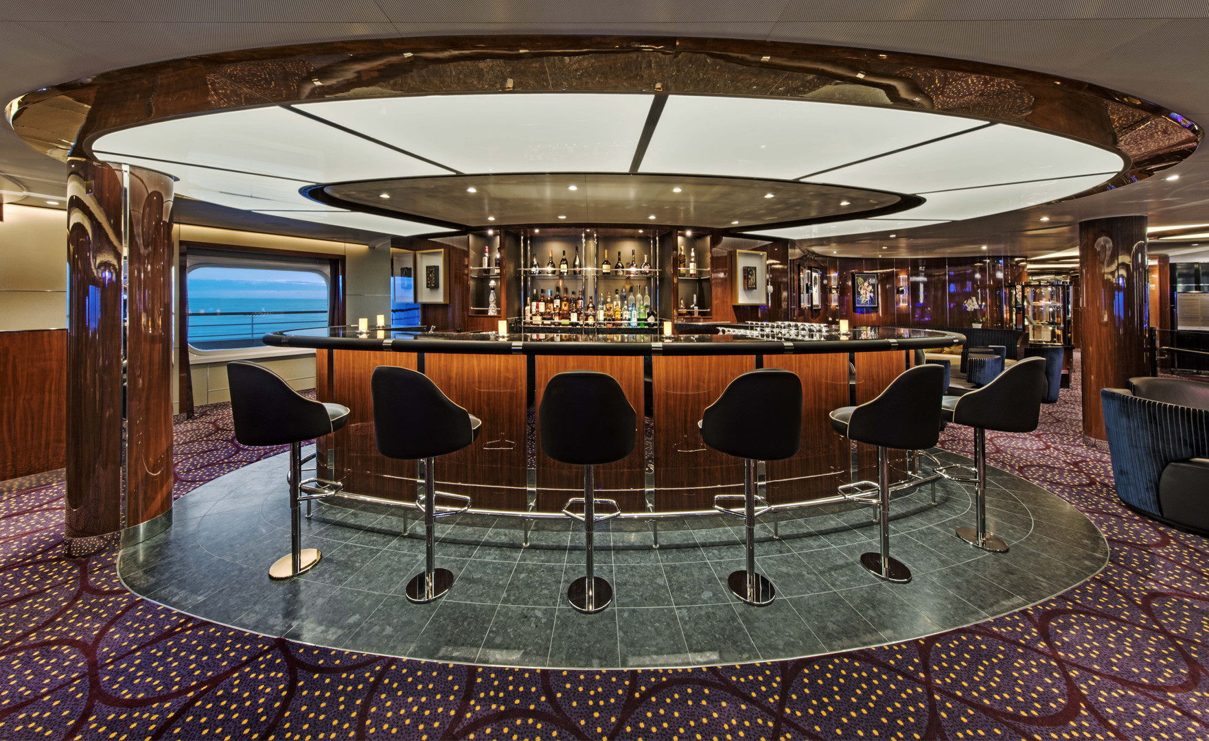 Seabourn Ovation 2018 The Club Preview (