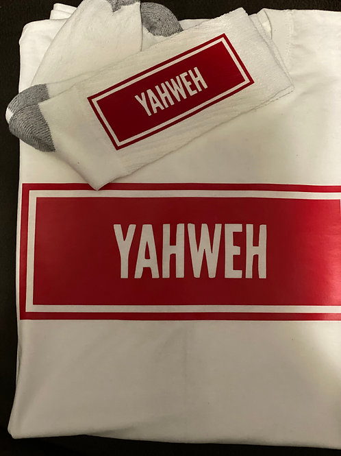 Yahweh Tee & Sock Bundle