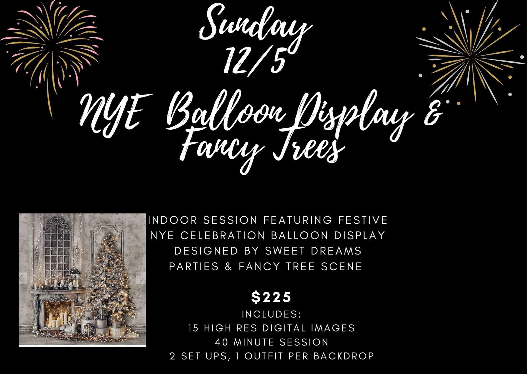 New Years Eve Balloon Celebration