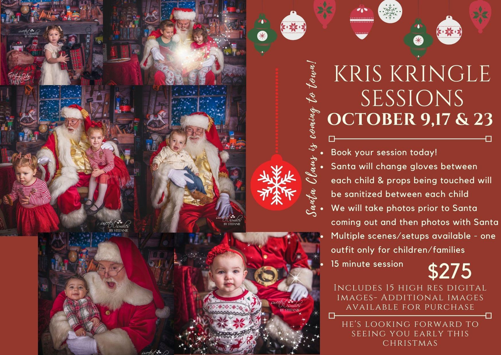 Kris Kringle Sessions